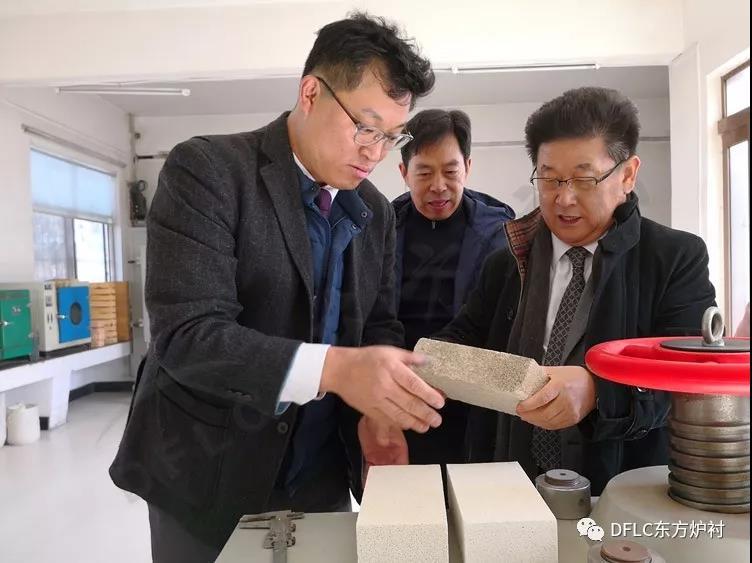 韩国最大的保温耐火材料企业 来我司洽谈业务