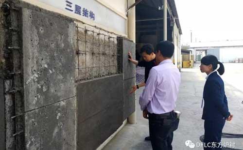 工厂实地考察,这款钢纤维耐火浇注料受到了武汉企业的喜爱