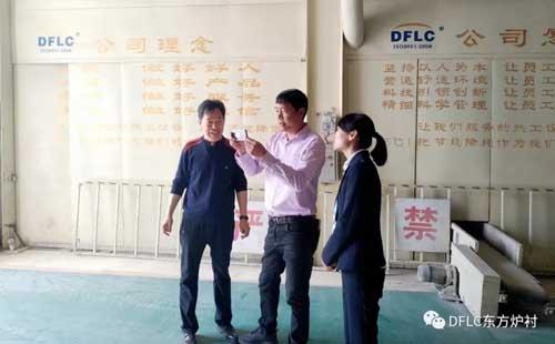 工厂实地考察,这款钢纤维耐火浇注料受到了武汉企业的喜爱!