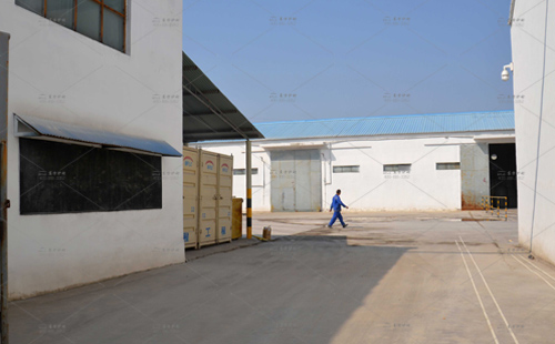 东方炉衬厂区