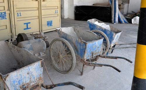 东方炉衬水泥推车