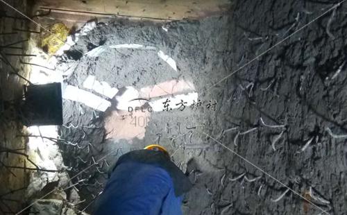 锅炉内衬用耐火浇注料施工